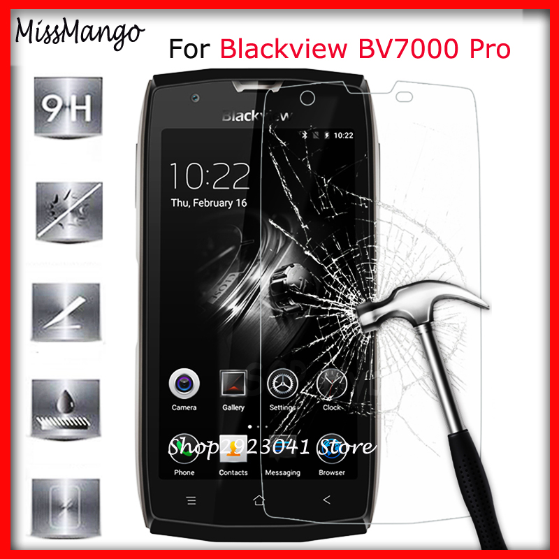 9H 2.5D Tempered Glass For Blackview BV7000 Pro Premium Screen Protector On Blackview BV 7000 Pro BV7000Pro Film Glas Cover Case
