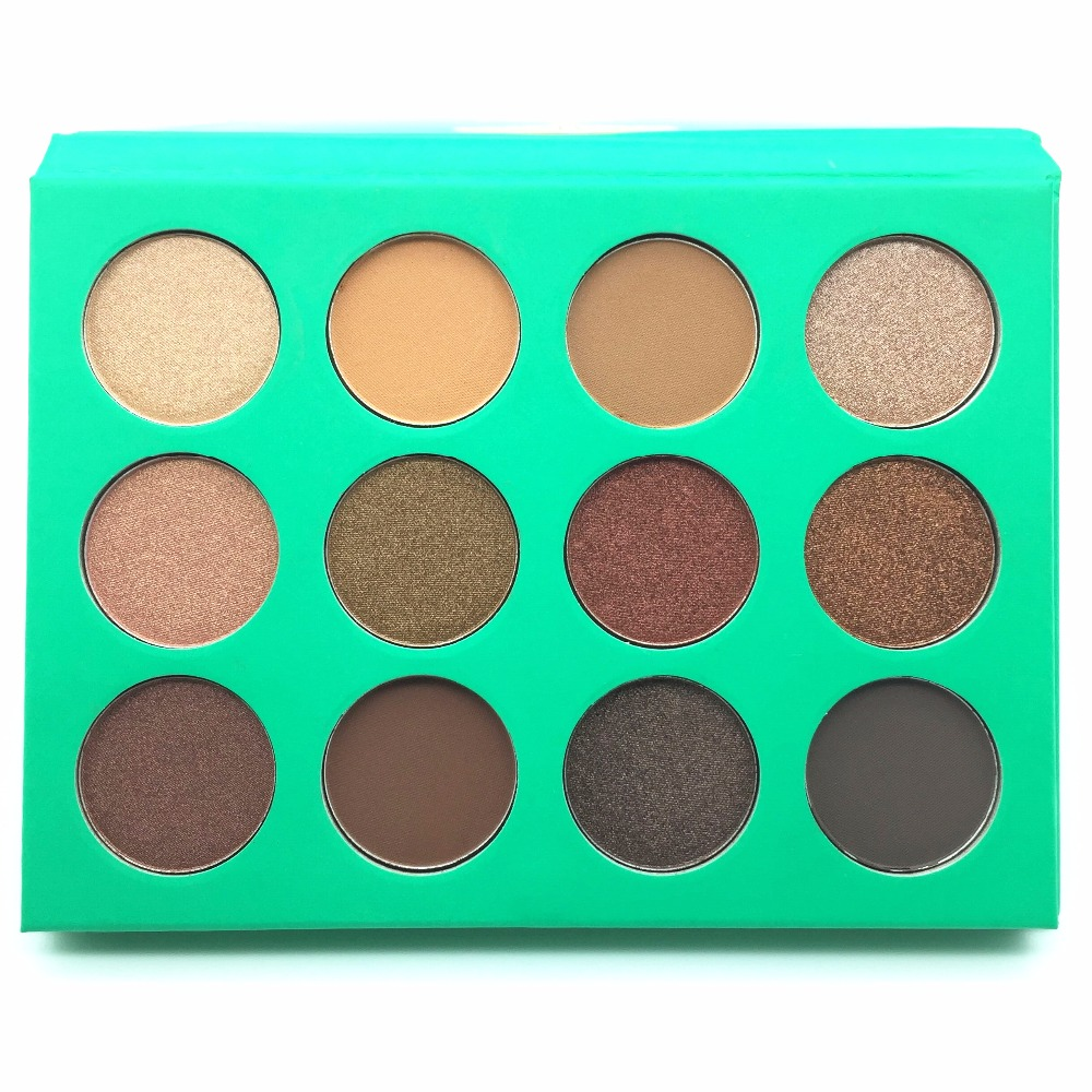 Lady Beauty Eye Shadow Professional Nude eyeshadow palette Eye Shadow Kit High Quality Long Lasting Make Up Glitter Eye Shadow