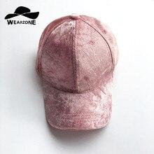 2017 New Velvet Baseball Caps Casquette Solid Snapback Brim Caps Bones Hip Hop Hats Men Women Gorras