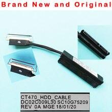 Novo cabo hdd original para lenovo thinkpad t470 ct470 t470p hdd disco rígido adaptador de conector de cabo dc02c009l30 sc10g75209