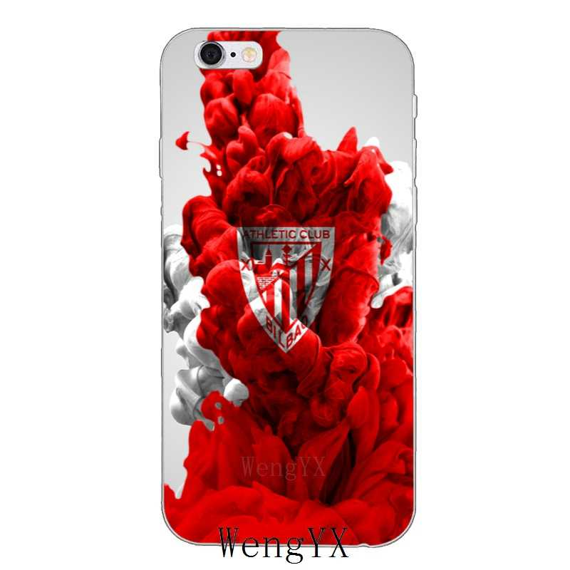 Спортивные Хихон Anciana Фан Клуб мягкий чехол для телефона для Xiaomi mi A2 8 SE Lite mi x Max 3 6X красный mi примечание 6 6A Pro S2 Pocophone F1