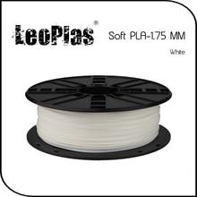 Worldwide Fast Delivery Direct Direct Manufacturer 3D Printer Material 1 kg 2.2 lb 1.75mm White Soft PLA Filament