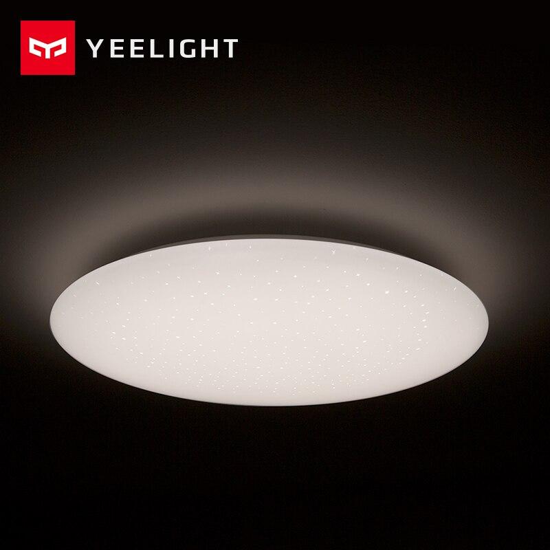 Xiaomi Mijia Yeelight потолочный светильник светодиодный Bluetooth WiFi Пульт дистанционного управления быстрая установка для xiaom Mi home приложение умный дом Комплект