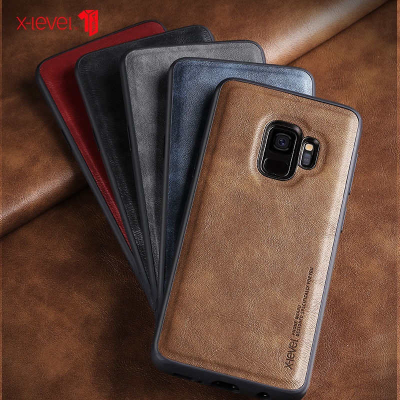 X-Level Leather Case For Samsung S9 Plus Original Soft Silicone Edge Shockproof Cover For Samsung Galaxy s9 s9+ CaseX-Level Leather Case For Samsung S9 Plus Original Soft Silicone Edge Shockproof Cover For Samsung Galaxy s9 s9+ Case