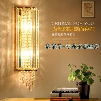 Lámpara de pared de cristal led luces de pared luminaria iluminación del hogar sala de estar lámpara de pared moderna para Baño