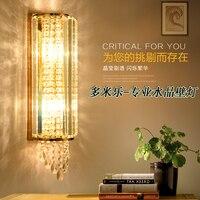 Led קריסטל מנורת קיר קיר אורות luminaria בית תאורת סלון מודרני קיר אור אהיל לאמבטיה-במנורות קיר מתוך פנסים ותאורה באתר