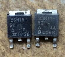 10 قطعة/الوحدة SUD25N15 52 25N15 25N15 52 TO252