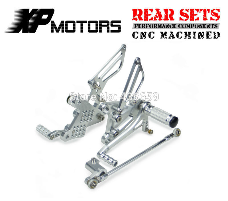 CNC Racing Rearset Foot Pegs Adjustable Footrest For Honda