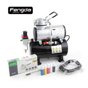 fengda FD-186KN free mini air compressor airhose clean brush