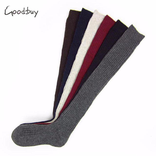 Goodbuy 2017 NEW 5 Colors Fashion Sexy Thigh High Over Knees Socks Long Cotton Stockings For Girls Ladies Women Socks Hot Sale