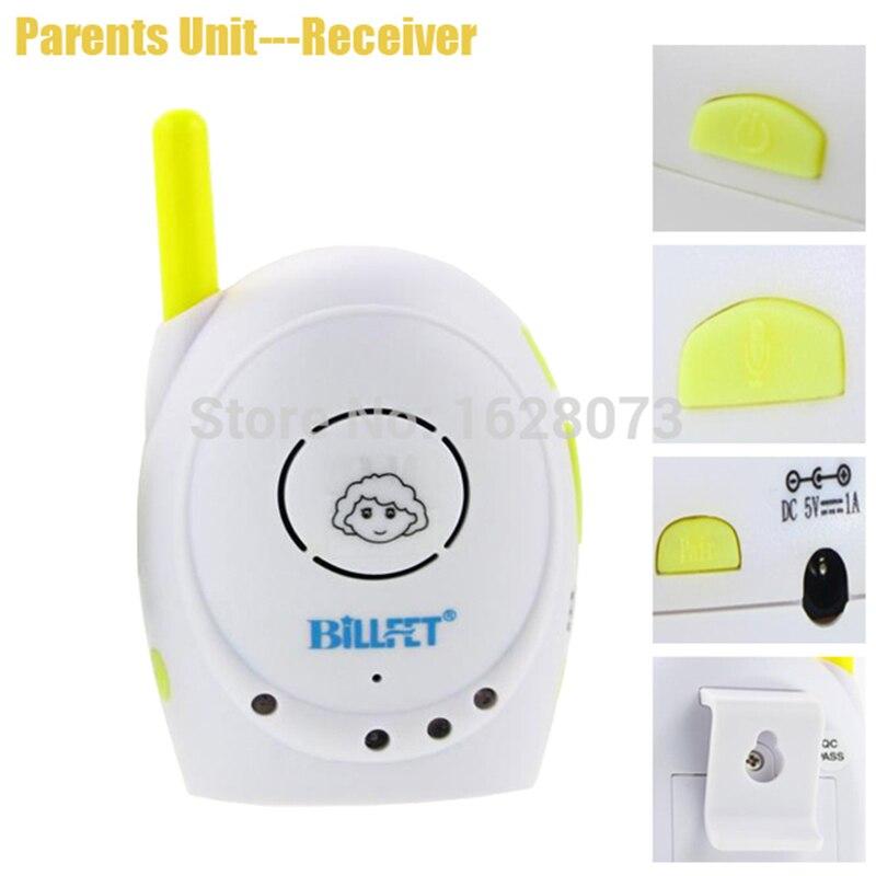 Talkie-walkie bébés 2.4 GHz Audio sans fil bébé moniteur Radio bébé téléphone bébé alarme enfants Radionana Intercoms Radio nounou infirmière - 2