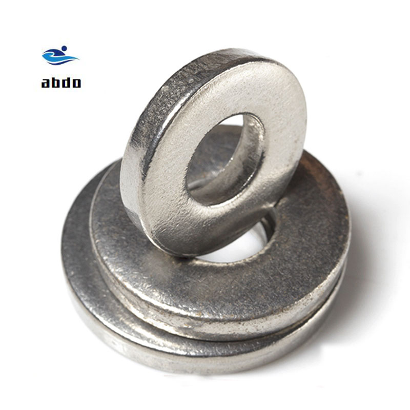 DIN7349 M3 M4 M5 M6 <font><b>M8</b></font> M10 M12 304 Stainless Steel Heavy Duty Flat gasket heavy-duty Machine Plain <font><b>Washer</b></font> thick <font><b>washers</b></font> SUS304 image