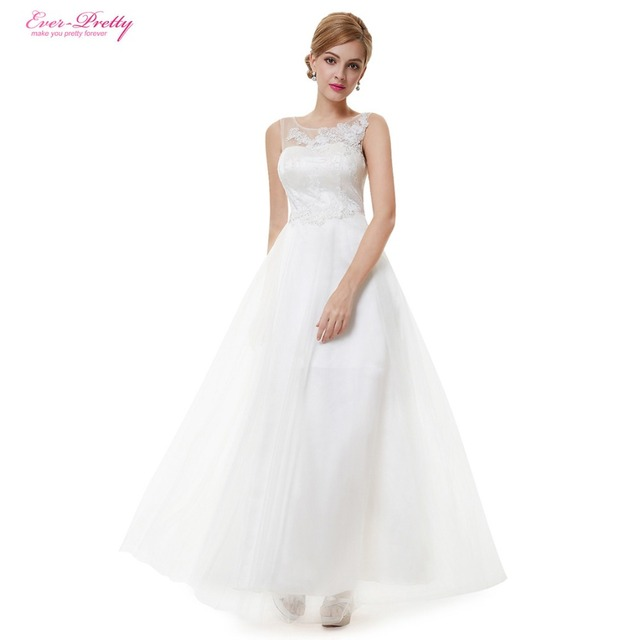 Clearance Sale] Long Simple Wedding Dresses HE08447 Ever Pretty ...