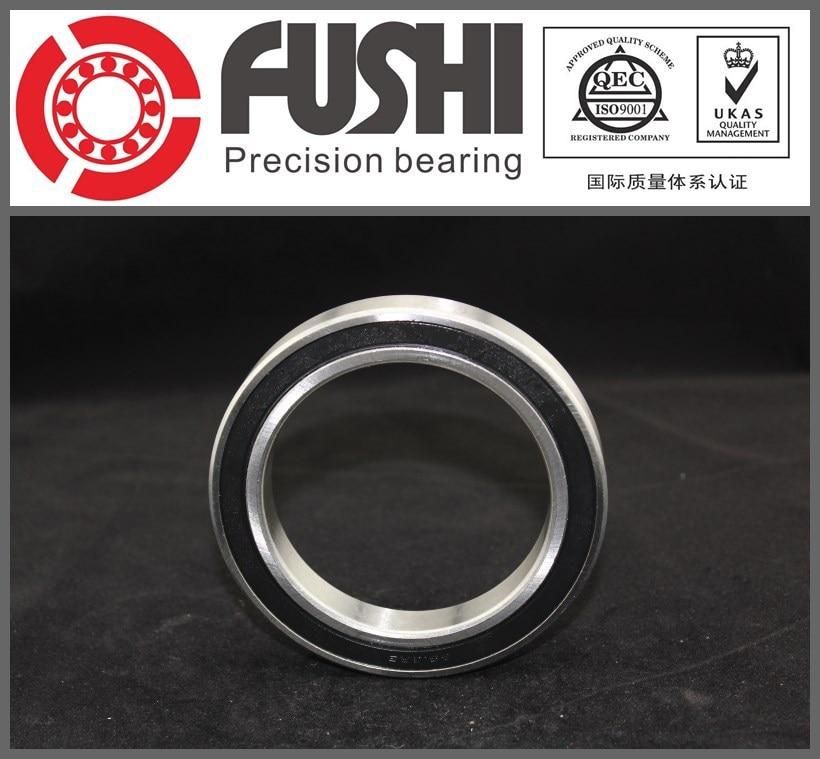 6918 2RS ABEC-1 90x125x18MM Metric Thin Section Bearings 61918RS 6918RS 1pcs 71822 71822cd p4 7822 110x140x16 mochu thin walled miniature angular contact bearings speed spindle bearings cnc abec 7