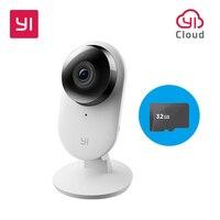 Yi Home Camera 2 1080P With 32G SD Card FHD Smart Camera Home Security Mini Webcam