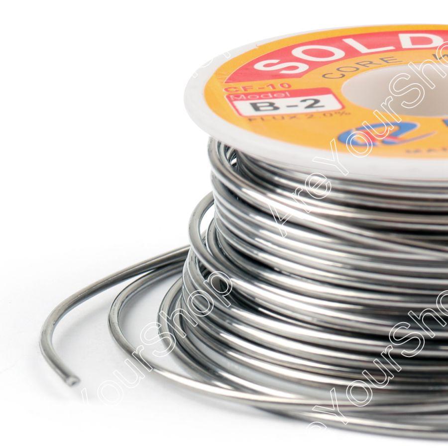 Areyourshop Sale 2.0mm 100g 63/37 Tin lead Rosin Core Solder Wire ...