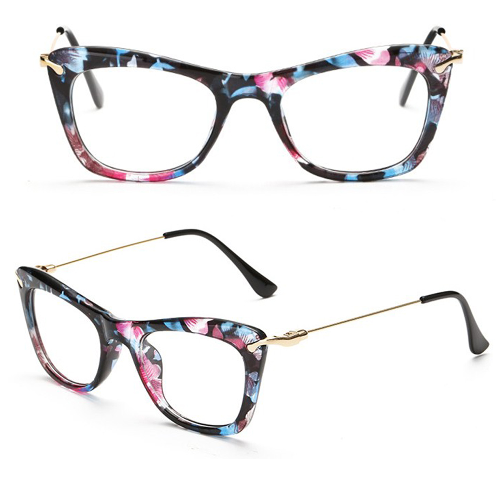 CAT EYE 5 COLORS Fashion ladies womens GLASSES FRA...
