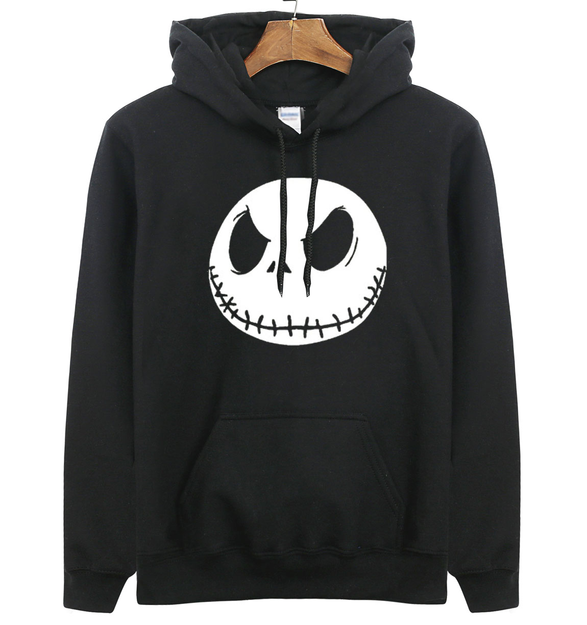 New Arrival Jack Skellington Men Sweatshirts 2018 New Spring Winter Men Hoodie Nightmare Before Christmas Hoodies Men Streetwear