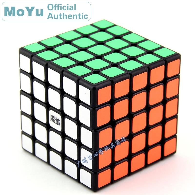 MoYu HuaChuang 5x5x5 Cube magique 5x5 Cubo Magico professionnel néo vitesse Cube Puzzle Antistress Fidget jouets pour enfants