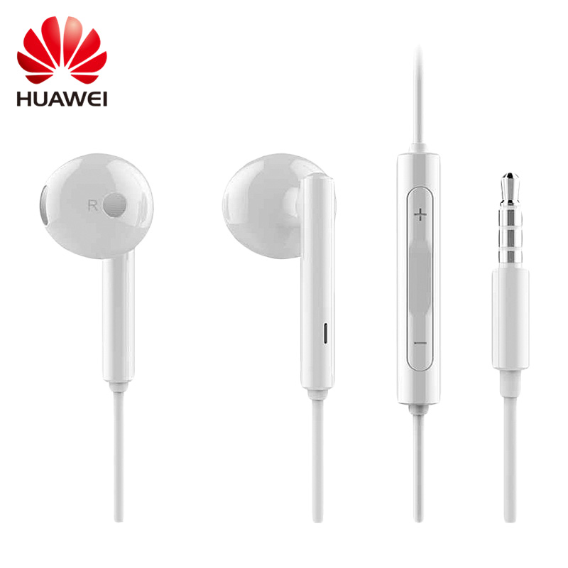 Original Huawei AM115 Earphone With Mic Stereo Earphone Earbuds For iPhone 6 6s Samsung Xiaomi Huawei  Smartphone MP3 PC syllable s1 stereo earphone headphones headset 3 5mm earphone earbuds for xiaomi huawei iphone samsung with mic and remote