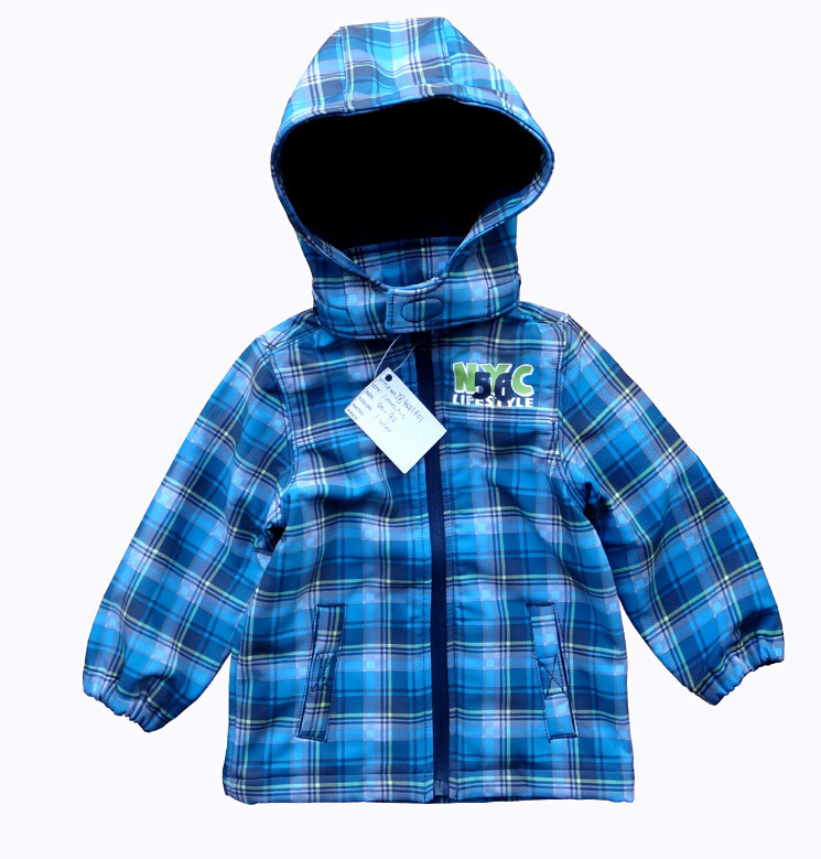 Baby Boy Windproof And Waterproof Jacket