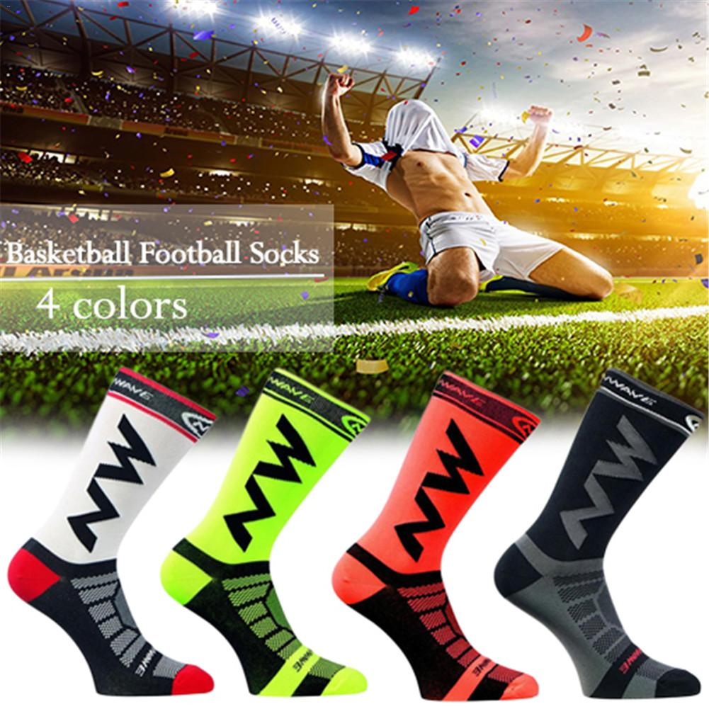 Unisex Breathable Quick Drying Nylon Bicycle Riding Cycling Socks Sports Socks Basketball Football Socks For Men and Women 39-45 quiksilver riding socks youth brillant 1108221