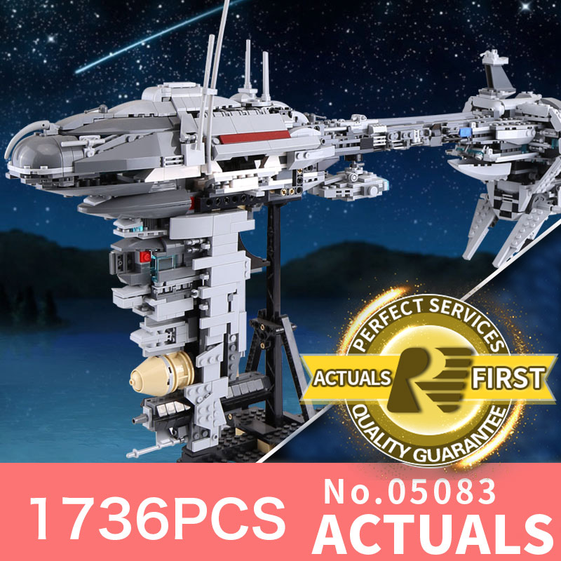 LEPIN 05083 Star Wars MOC Nebulon-B Medical Frigate LegoINGlys bricks model building kits blocks toys for boys children gifts