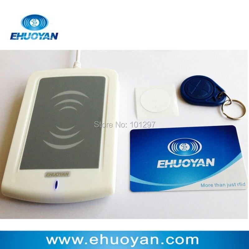 13.56Mhz ISO 14443 A Rfid Writer USB ER301 + SDK+software eReader V9.0+3Tags