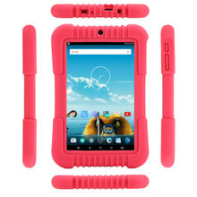 iRULU Y3 7″ Babypad 1280*800 IPS A33 Quad Core Android 5.1 Tablet PC GMS 1GB 16GB Silicone Case Gift for children