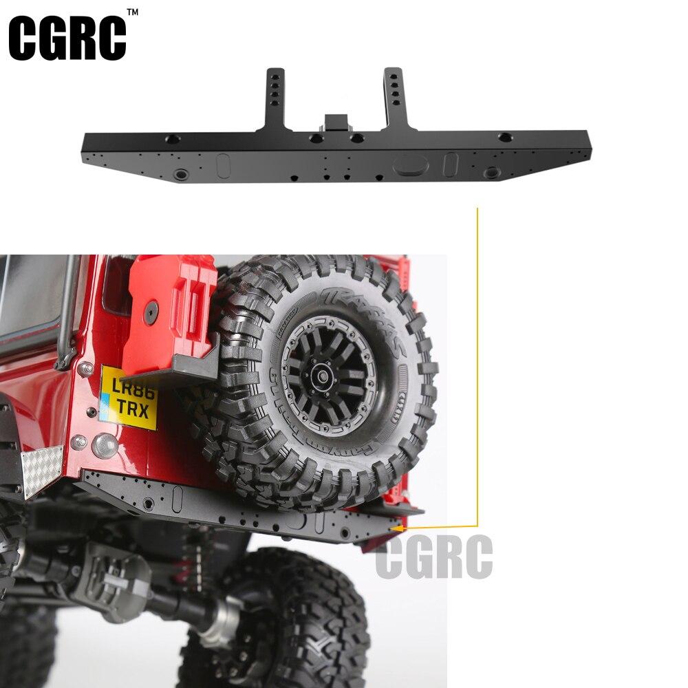 Pare-chocs arrière classique en métal TRX4 pour chenille 1/10 RC TRAXXAS Trx-4 Trx 4