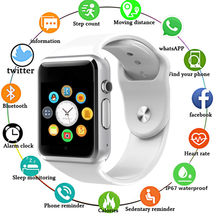 цены HIXANNY Bluetooth Smart Watch Clock Sync Notifier Support SIM TF Card Connectivity Apple Iphone Android Phone Smartwatch GT08
