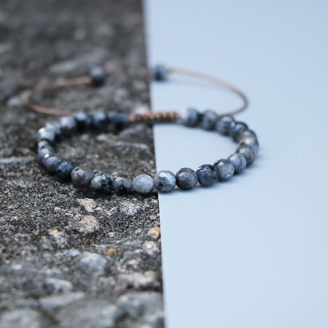 Bracelet Labradorite Veritable