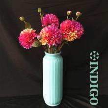 Фотография INDIGO-New Arrival 5pcs - Dahlia Pompon Daisy Purple Chrysanthemum Home Decorative Artificial Flower Wedding Party Free Shipping