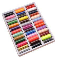 Heiße art 39 farbe 402 hochwertige DIY nähgarn polyester gewinde nähmaschine