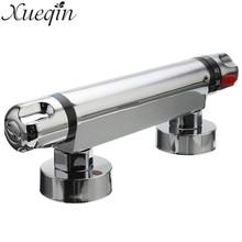 Медь термостатический смесительный Клапаны для душа автоматический Контроль температуры воды трубы термостат Клапаны