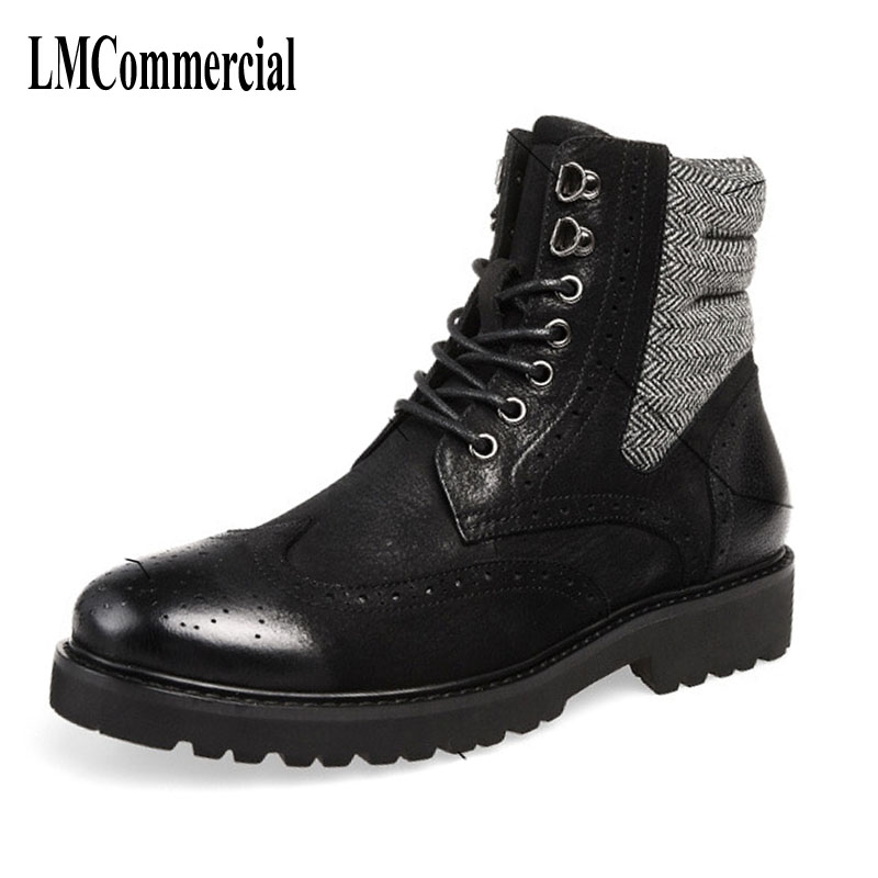2017 new autumn winter British retro men boots zipper leather shoes breathable fashion boots men casual boots,bullock martin boots men s high boots korean shoes autumn winter british retro men shoes front zipper leather shoes breathable