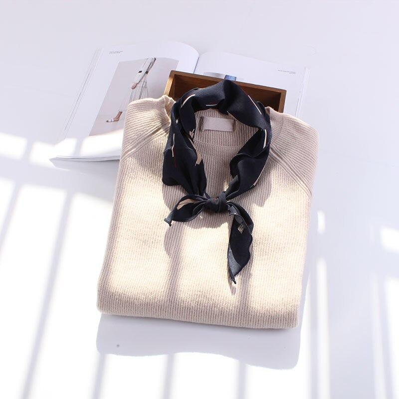 85*33cm Wild Line Geometric Triangle Scarves Soft Comfortable Headband Decorative Multi- ...