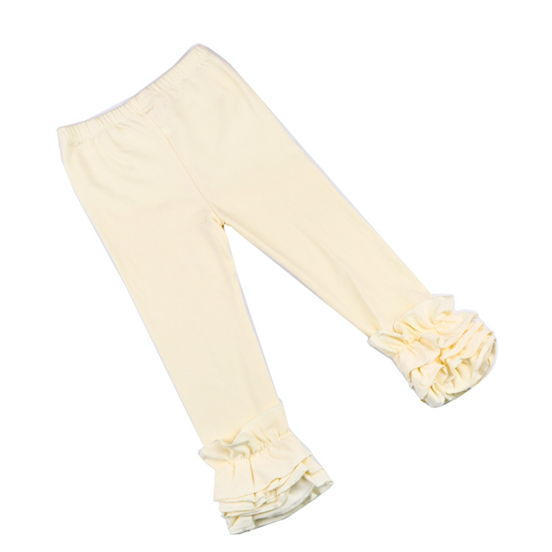 2af0bb5411952 European USA Clothing Fashion Baby Girls' Cotton Lace Leggings Toddler Fold  Plain Color Tights Lace Pants Infant Clothing-in Pants from Mother & Kids  on ...