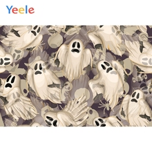 Yeele Halloween Family Photocall Party Decor Ghost  Photography Backdrop Personalized Photographic Backgrounds For Photo Studio playmobil игровой набор инопланетный воин с т рекс ловушкой