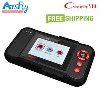 Hot Launch X431 cr Creader 8 Creader VIII DBScar scan công cụ cập nhật trực tuyến và Cresetter Oil Lamp tool Reset Miễn Phí Vận vận chuyển