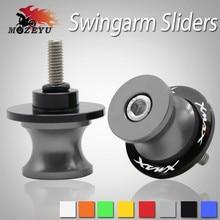 Motorcycle Accessories CNC Swingarm Sliders Spools Stand Screws For Yamaha XMAX X-MAX 125 250 300 400 2017 2018 TMAX530 TMAX 500
