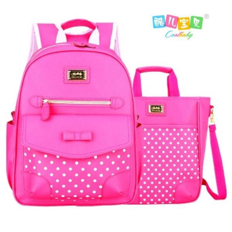 Cool Baby New 2017 Lovely Girl School Bags Fashion 1-3-6 Grade Children Book Bag Brand Girl Bowknot Mochila Cartoon Backpack конструкторы город мастеров конструктор зил 130 пожарная машина