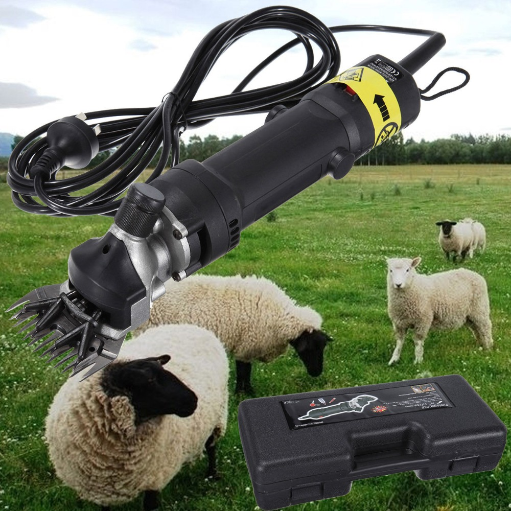 Ship from AU! 320W Pro Heavy Duty Portable Super Sheep Clipper Shearing Wool Shears Kit new 680w sheep wool clipper electric sheep goats shearing clipper shears 1 set 13 straight tooth blade comb