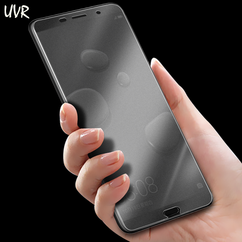 UVR Full Cover Matte Tempered Glass For Huawei Mate 10 Mate10 Pro Anti Blue ray No Fingerprint Screen Protector Frosted Film in Phone Screen Protectors from Cellphones Telecommunications