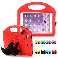 Для iPad Mini 2 3 случае падения доказательство Catoon детская игрушка противоударный защитный чехол Стенд CAES для Apple iPad мини 1 2 3 4