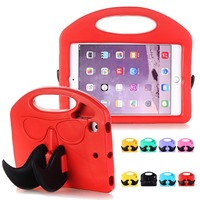 For IPad Mini 2 3 Case Drop Proof Catoon Kids Children Toy Protective Shockproof Cover Stand