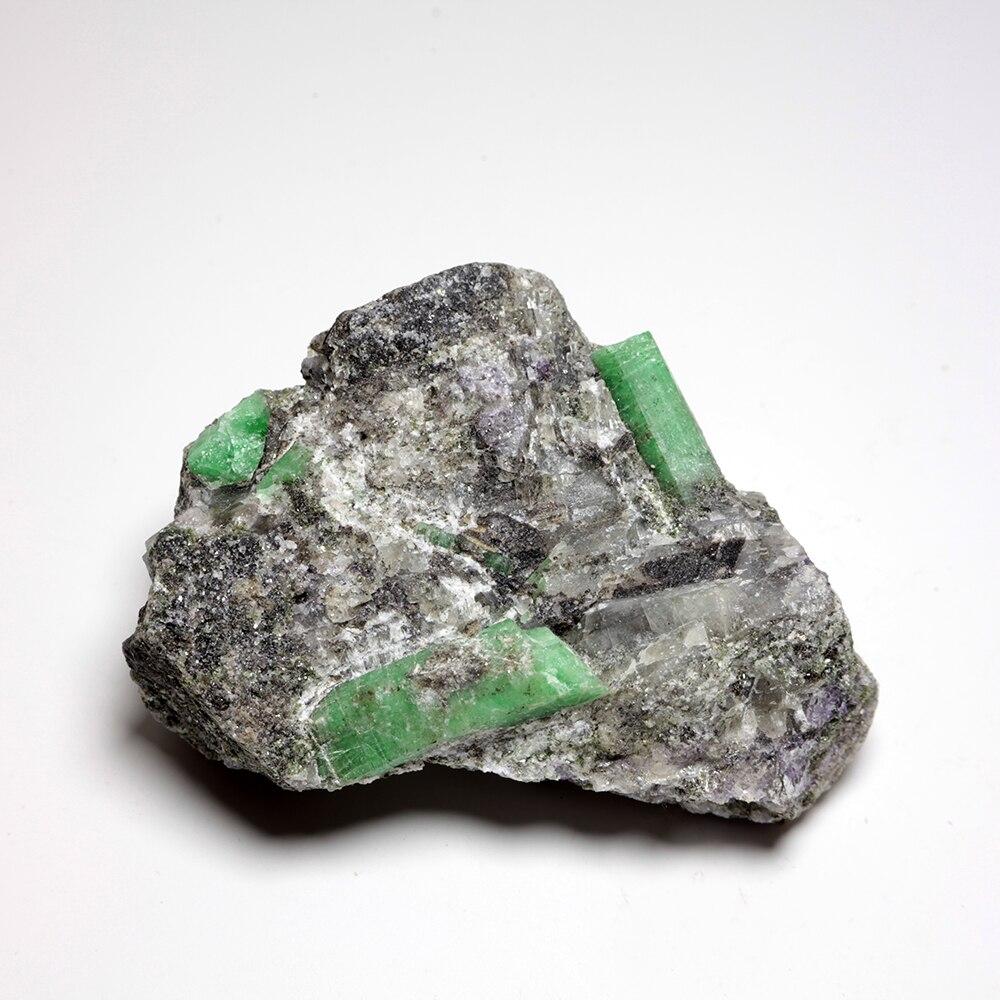 239g pas cher naturel émeraude quartz cristal pierre minerai échantillons minéraux collection B13-20