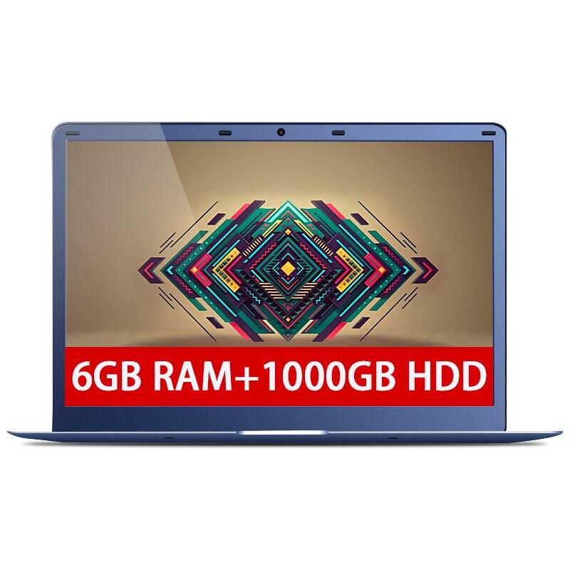 15 6inch 6GB RAM 1000GB HDD Intel Apollo Lake N3350 Windows 10 System 1920X1080P FHD Long