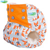 Ananbaby New Style Baby Cloth Diaper Washable Nappy Sewn 3 Layer Microfiber Insert AIO Super Soft