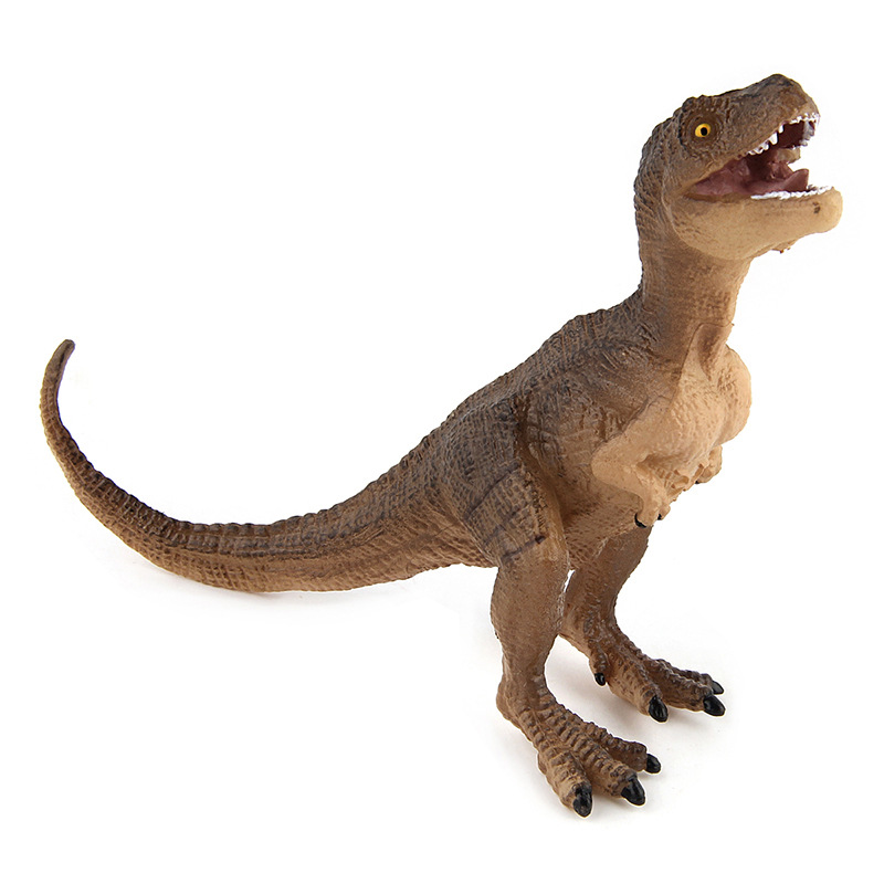 Action & Toy Figures Jurassic Tyrannosaurus Baby Dinosaur Toys Plastic 8cm Dolls Animal Collectible Model Furnishing Toy Gift F3 big one simulation animal toy model dinosaur tyrannosaurus rex model scene